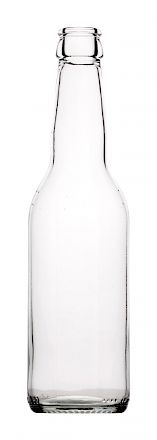 Longneck 33 cl, bright glass bottle Glass bottles - Bevpak