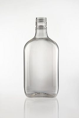 Liquor bottle 500 ml Plastic bottles - Bevpak